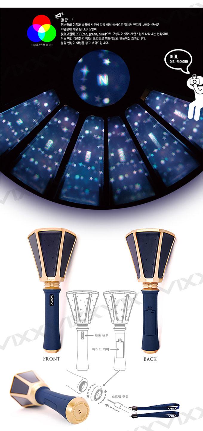 Vixx Official Light Stick 2nd Ver Kirin Dinast 237 A K Pop