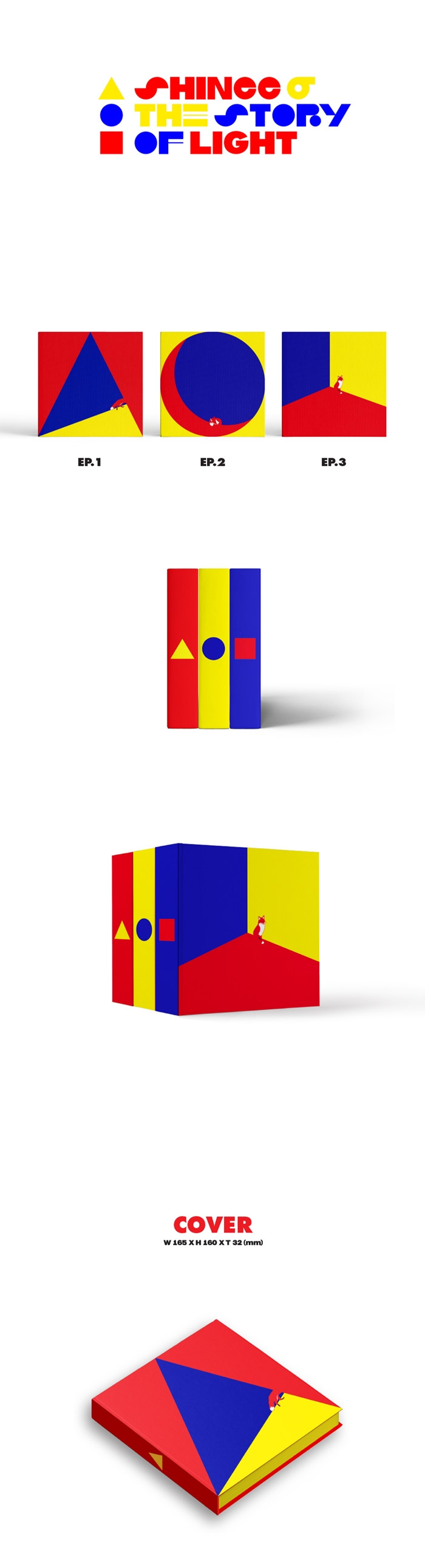 SHINee: The Story of Light Ep  1 - 6th Album